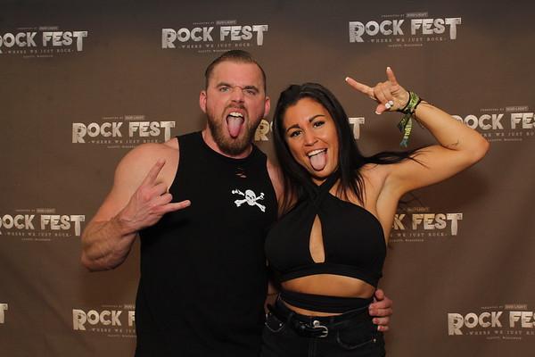 Rock Fest 2021 THURSDAY 7-15-21 GA TENT IMAGES
