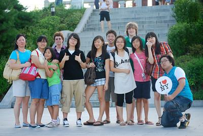 New Friends in Seoul