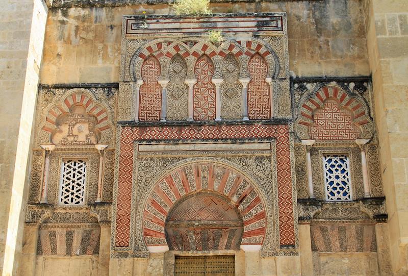 Exterior doorway of the Mezquita, Cordoba.