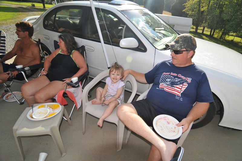 Terry, Michaella and Bob