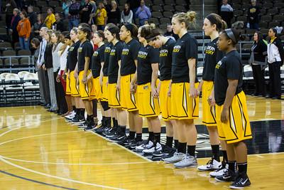 NKU Women's Basketball vs Wright State 1-3-2015