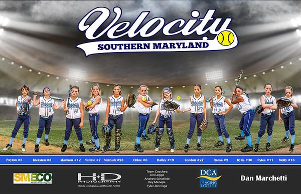 Velocity 10U Girls Softball