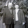 "We are grateful to Lydia Leis -- who may very well be a distant cousin in Germany -- for sharing this undated photograph of her ancestors (April 2010).  Shown at left is David Miller, who is Lydia's grandfather.  David lived to about age 76.  He is shown here with his older sister, Eva Elizabeth (Miller) Bornhoef.  She died in Berlin, Germany in 1977 at about 82 years of age.  David's mother and father, Johan and Elizabeth (Steinbrecher) Miller were born in Unterdorf, Russia.  It's likely that David was, too.    There were several Miller families in Unterdorf, as indicated in this <a href=""http://freepages.genealogy.rootsweb.ancestry.com/~unterdorf/Maps/Katiesmap.html""><b><i>Unterdorf map</b></i></a> created by Gayle Behm and her mother-in-law, Katie (Steinbrecher) Behm many years ago."