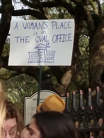 Women's march in New Orleans