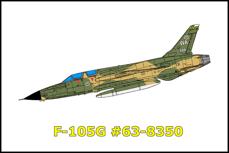 On 5/15/79, a flight of three F-105Gs departed George AFB, California on a local training mission. The mission, second of the day for the six flight crew members, was to include Low Level Training and Air Combat Tactics. After completion of the Low Level Training, the flight climbed to medium altitude and set up for the briefed Air Combat Tactics engagement. Number one, the mishap aircraft, was attacked by number two and maneuvered to the six o'clock position of the attacker. As he slid behind the attacker the aircraft rolled off and entered a steep driving spiral. Both crew members ejected. The Electronics Warfare Officer, Capt. Michael R. Carison successfully ejected, but suffered major injury upon landing in rugged terrain. The pilot, Capt. Will H. Carroll Jr. ejected but was fatally injured on ground impact. The aircraft was destroyed on impact with the desert floor.