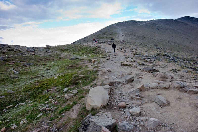 Climbing Whistlers Peak