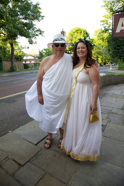 The Spar's Leaving London Toga Party