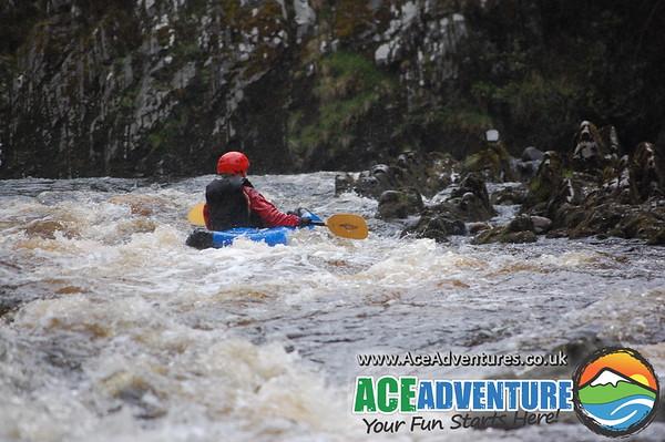22nd May 2013, Camilla Kayaking