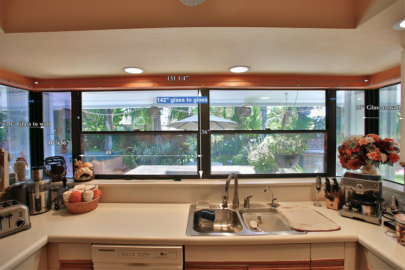 East View Kitchen Window