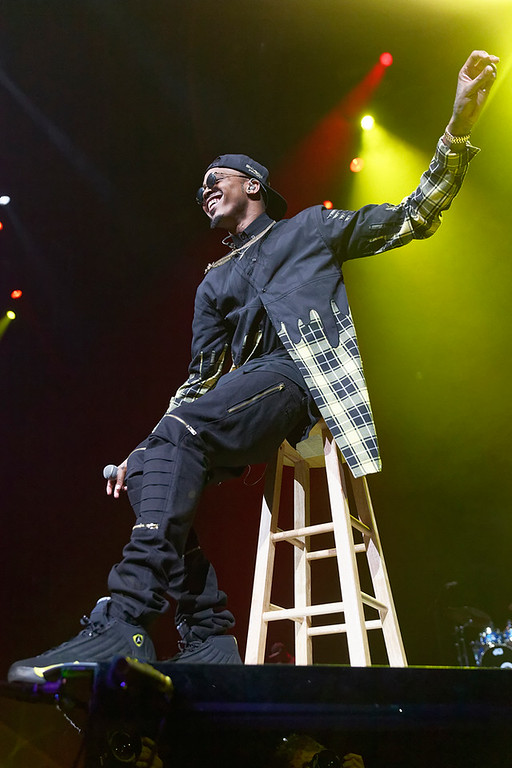 . August Alsina performs at The Palace on Nov. 4, 2014. Photo by Ken Settle