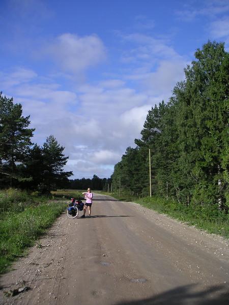 15 - So 14.8.05: Kargi (Möntu) - Leisi, 90.9km
