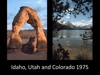 1975 Idaho, Utah, and Colorado