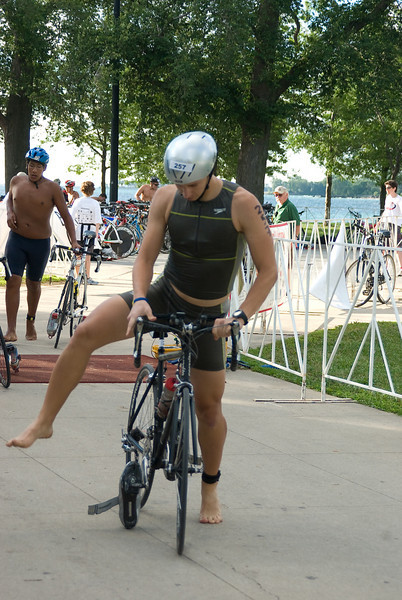 South Shore Triathlon - August 2, 2008