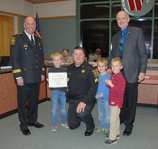 2016-11-10 Police Dept Promotions-Award