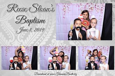 Reese Sloan's Baptism 6.1.19