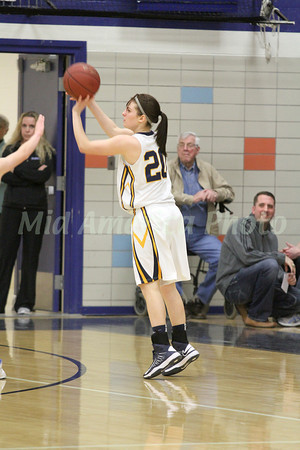 Girls Basketball, Danville vs Notre Dame, Quarter Final Class 1A Region 4 2/12/2013