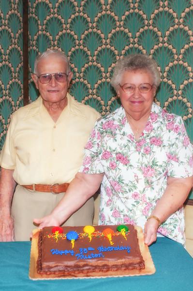 PawPaw's 85th Birthday - 2013