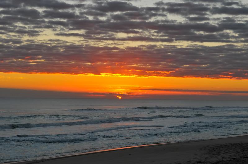 Sunrise Playalinda Beach