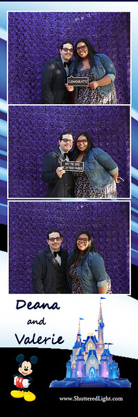 Deana and Valerie Wedding Photo Booth
