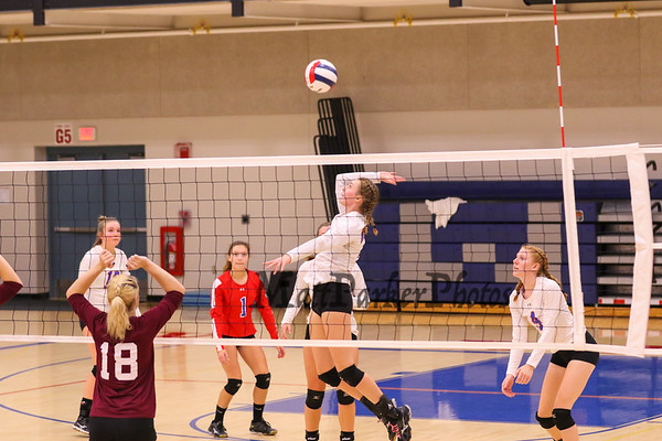 2017-10-16 WHS Volleyball vs Goffstown