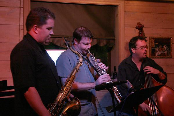 20070914 Saxophone Summit @ Cezanne