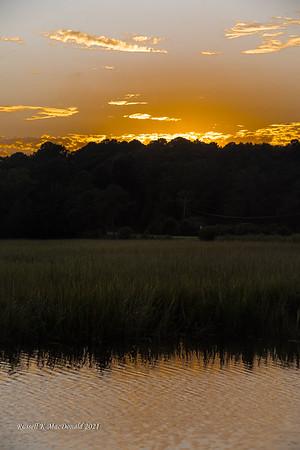 2021-10-01 Sunset at Marsh Harbour