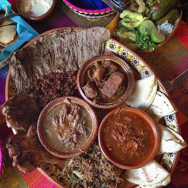 Food for cowboys: At El Meson de Los Laureanos, in El Quelite, Mexico
