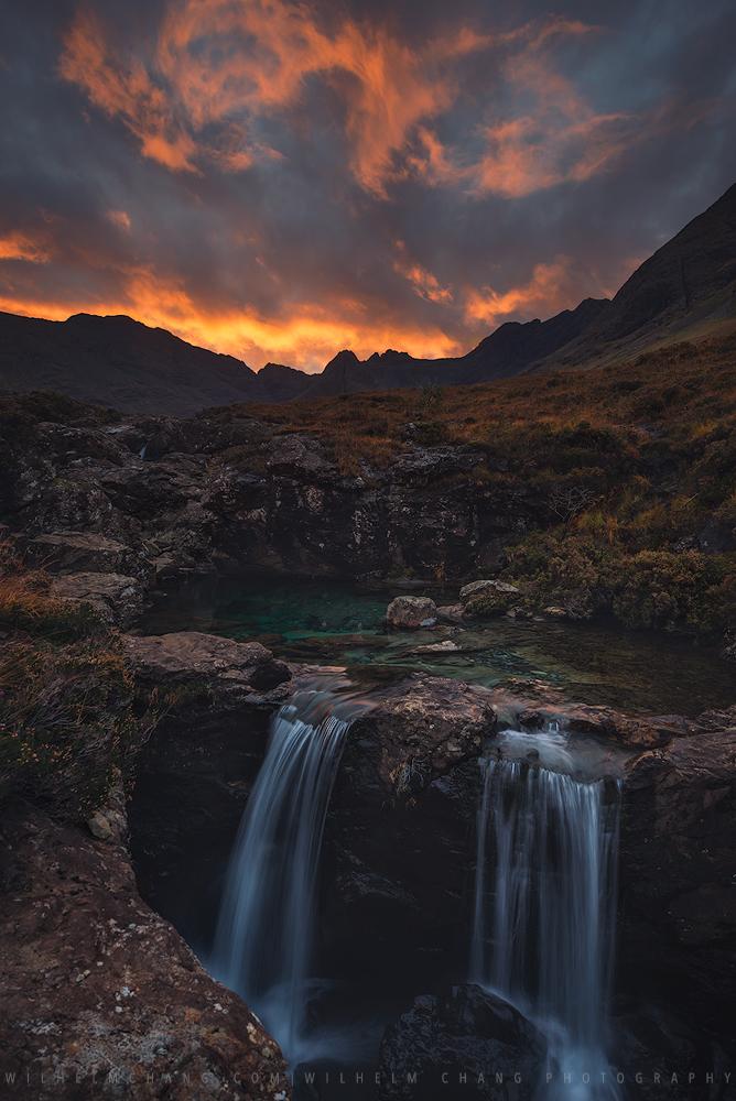 到英國攝影 蘇格蘭高地天空島 仙女池 Fairy Polols Isle of Skye by 旅行攝影師 張威廉 Wilhelm Chang Photography