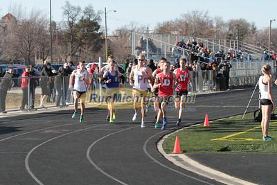 1 Mile Men - 2014 OU vs UDM Dual Track Meet
