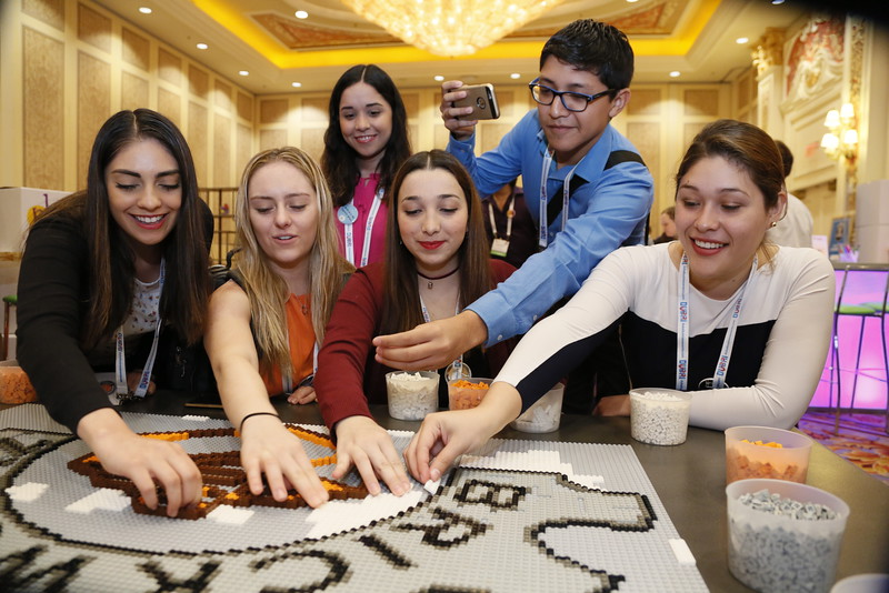 Piecing together learning and fun at the IMEX Playroom