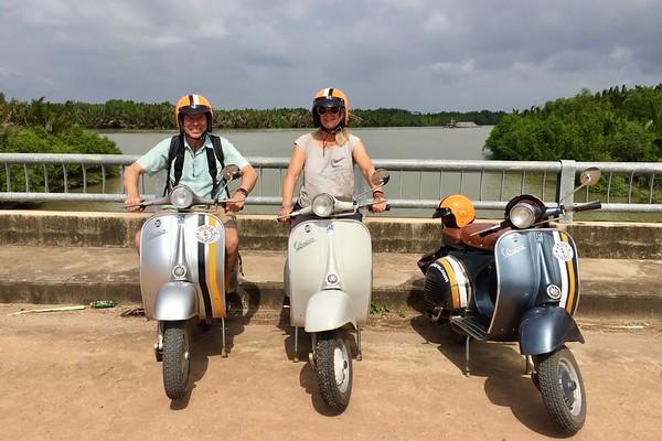 Saigon Countryside Tour on a Vespa