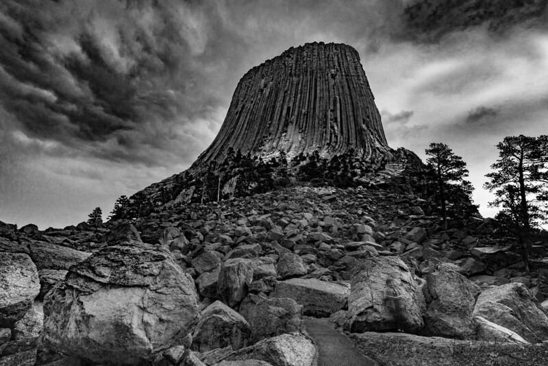 Devil's Tower & a Tourist - Can you see her.jpg