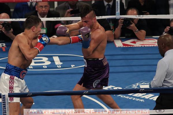 10/17/2015 Golovkin TKO's Lemieux