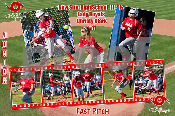 New Site High School Softball (Fast Pitch) Posters