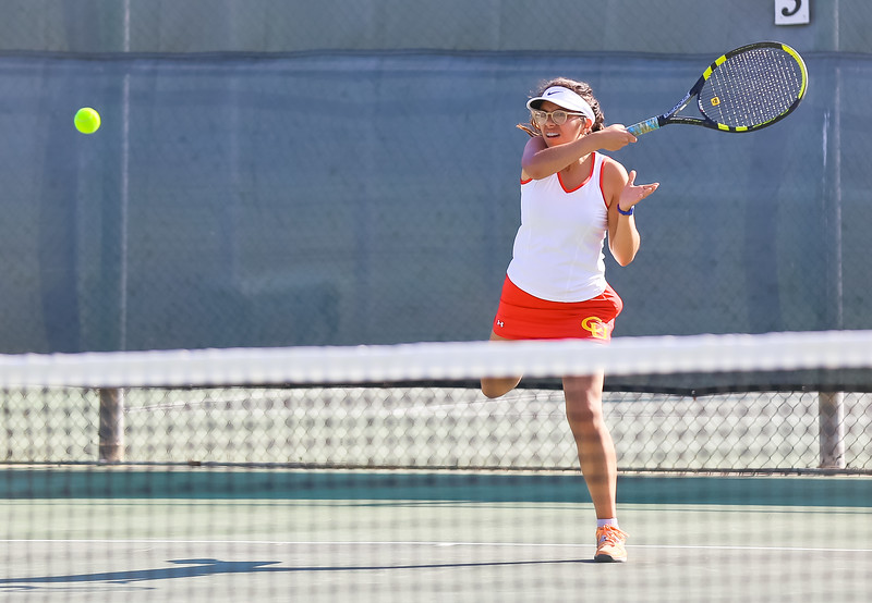 2016 Action Shots -  Girls Tennis
