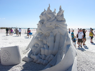 Siesta Key Sand Sculpture