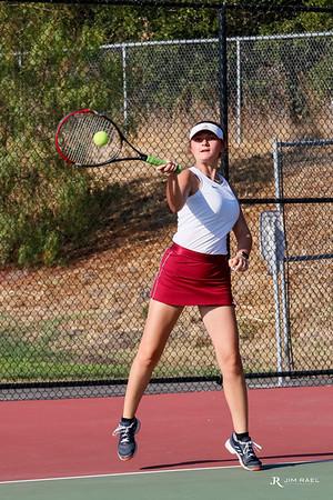 Fall Tennis Action Shots