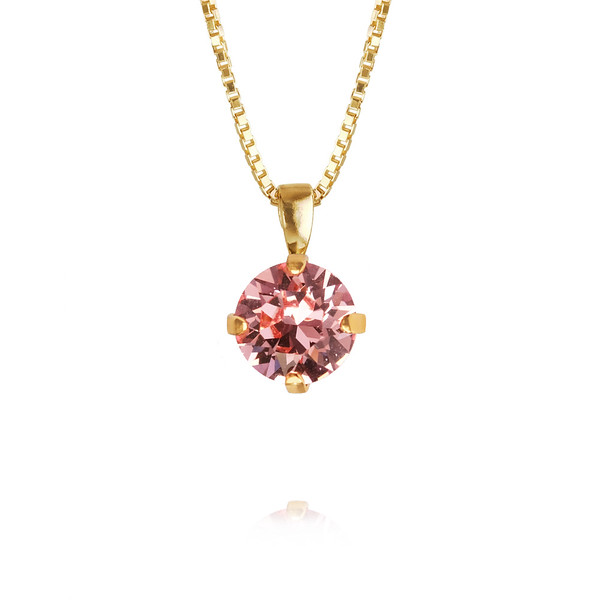 Classic Petite Necklace / Light Rose