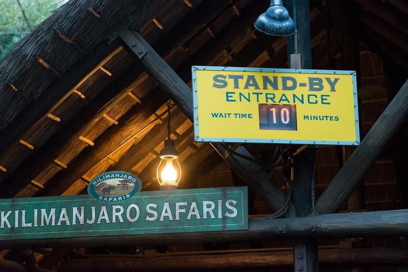 Kilimanjaro Safaris 10-Minute Wait - Disney's Animal Kingdom, Walt Disney World