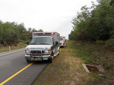 BUTLER TOWNSHIP I-81 MM 121.8 VEHICLE ACCIDENT 9-3-2010 PICTURE BY COALREGIONFIRE