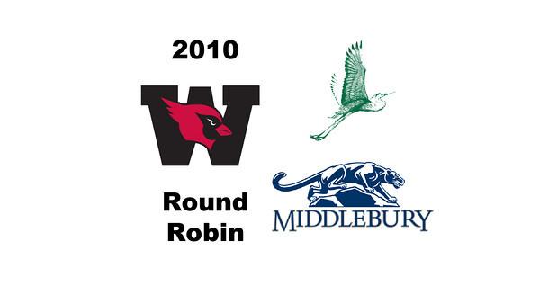 2010 Wesleyan Round Robin Videos