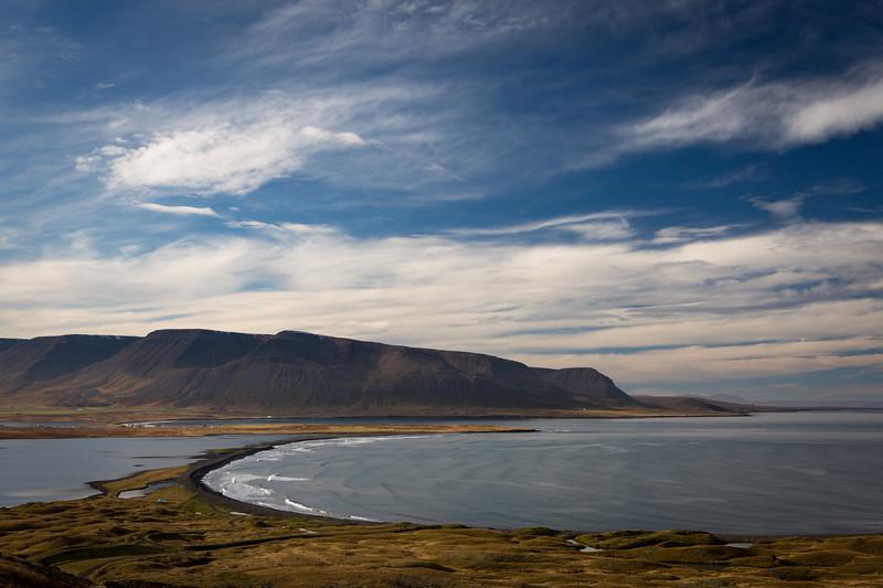 Northern-most tip of Iceland, Tröllaskagi Peninsula