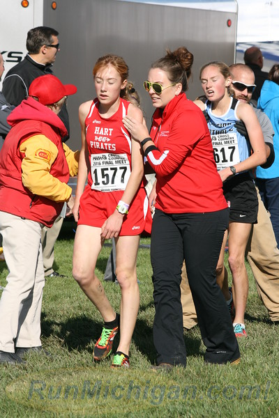 Post Race/Chute Photos, D3 GIRLS - 2016 MHSAA LP XC FINALS