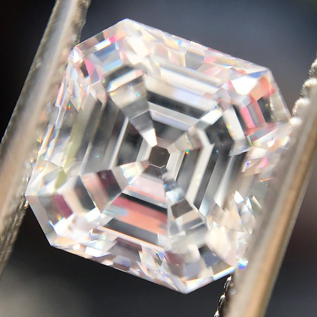2.02ct Vintage Asscher Cut Diamond GIA E VVS2