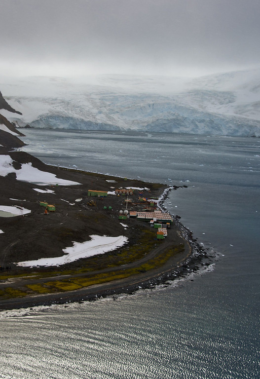 . View of Brazil\'s Comandante Ferraz base, in Antarctica on March 10, 2014.    AFP PHOTO / VANDERLEI ALMEIDA /AFP/Getty Images