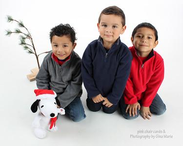 Three Christmas stars!