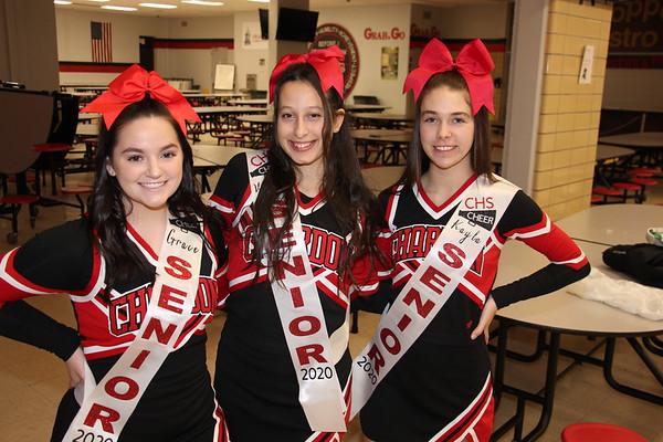 '20 Chardon Cheerleaders Senior Night