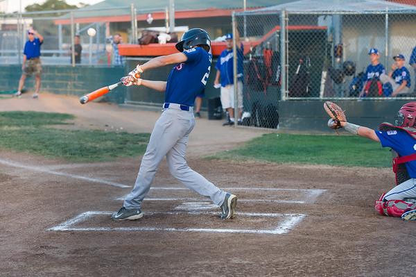 Roseville West Little League Major Rangers vs Dodgers 4-30-15