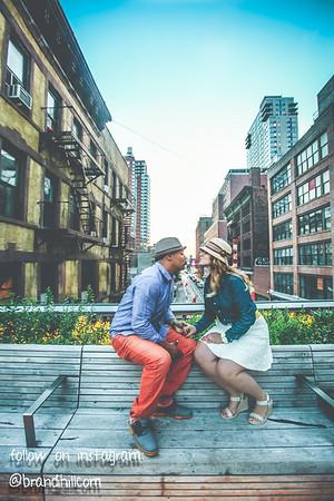 Eliana & Danny NYC Skyline Park June 2014