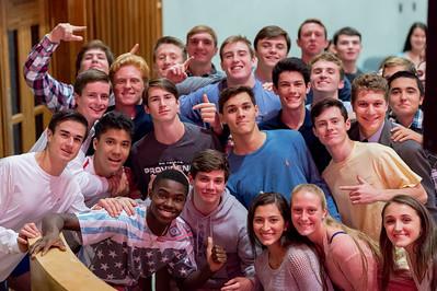 Freshman/Sophomore C.R.O.S.S. Evening of Recollection –November 4, 2016